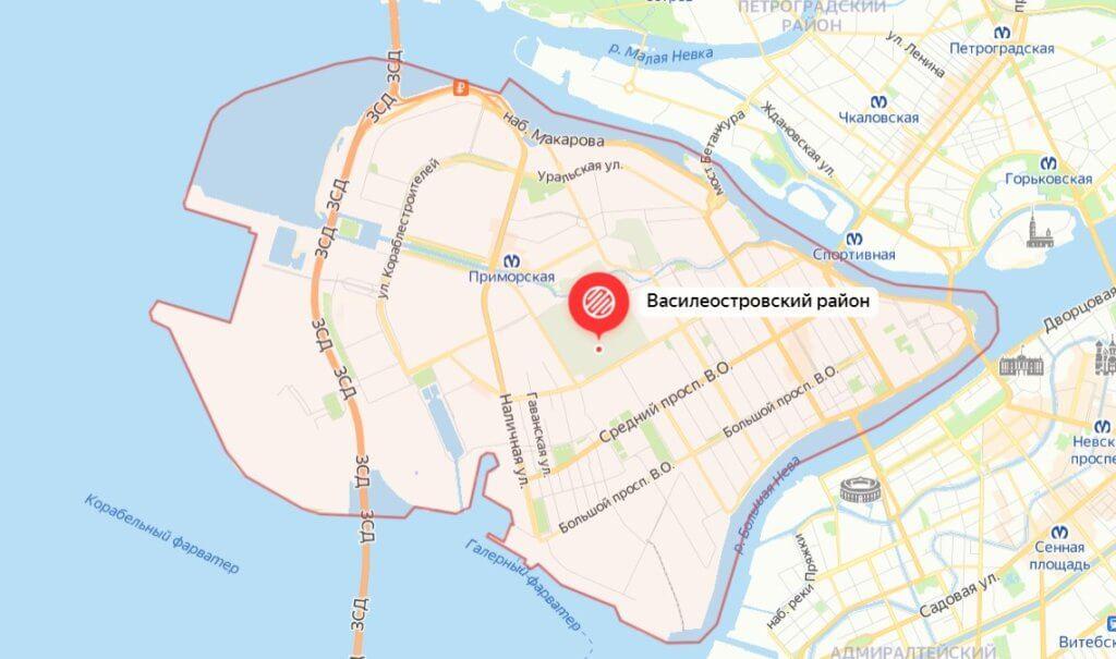 Василеостровский район